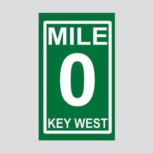 Mile Zero Sticker