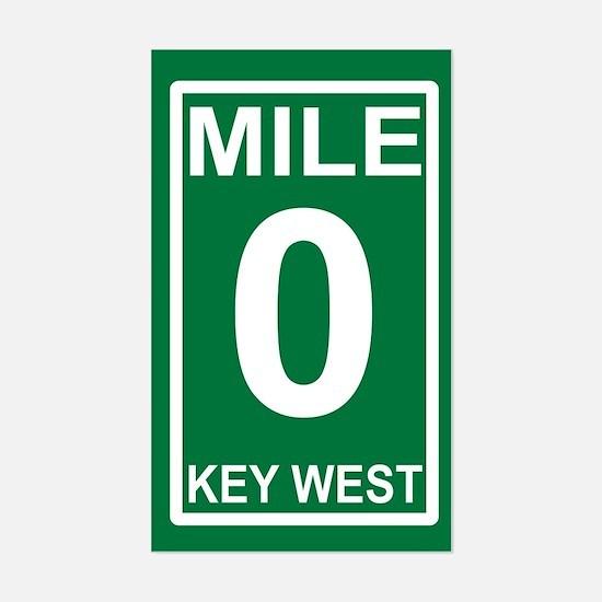 Mile Zero Decal