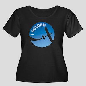 Airplane - I Soloed Women's Plus Size Scoop Neck D