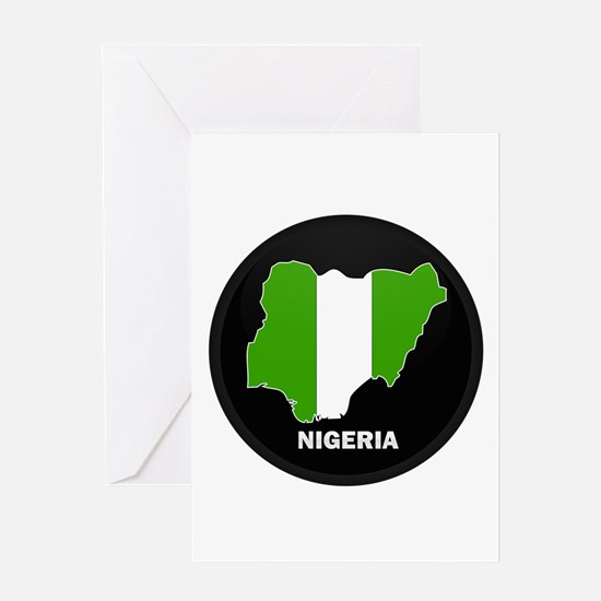 nigeria Greeting Card
