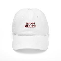 diann rules Baseball Cap
