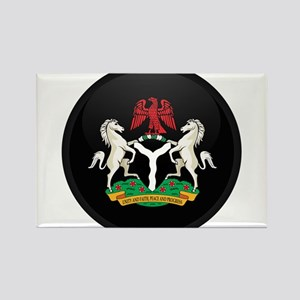 Coat of Arms of nigeria Rectangle Magnet