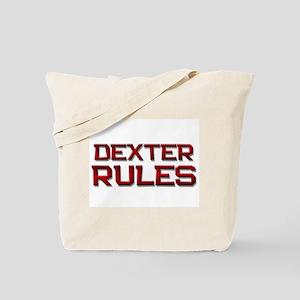 dexter rules Tote Bag