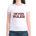 devon rules Jr. Ringer T-Shirt