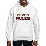 devon rules Hooded Sweatshirt
