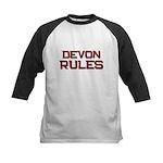 devon rules Kids Baseball Jersey