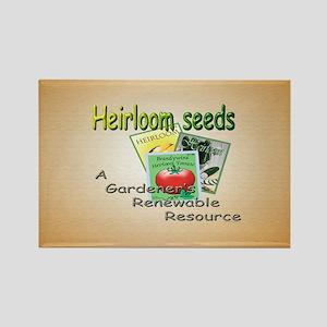Garden Seed Rectangle Magnet