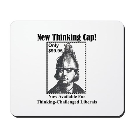 """""""Help For Liberals"""" Mousepad"""