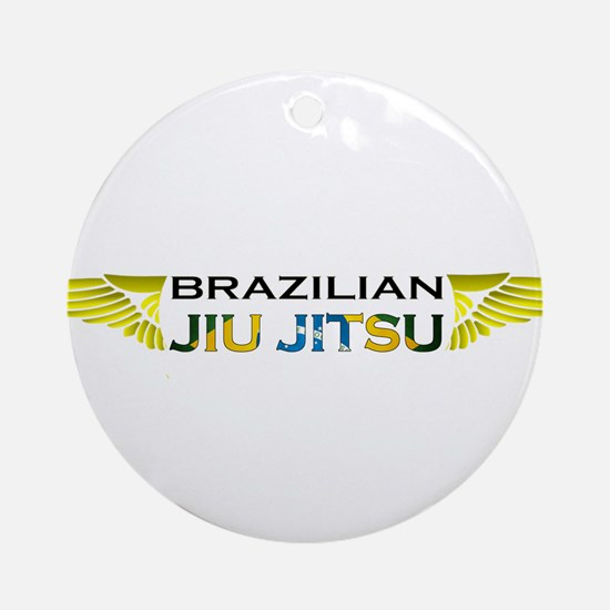 BJJ Wings Ornament (Round)
