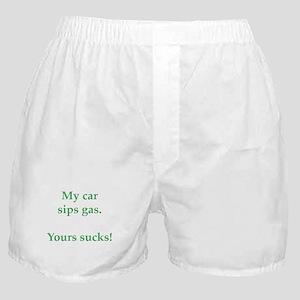 My Car Sips Boxer Shorts