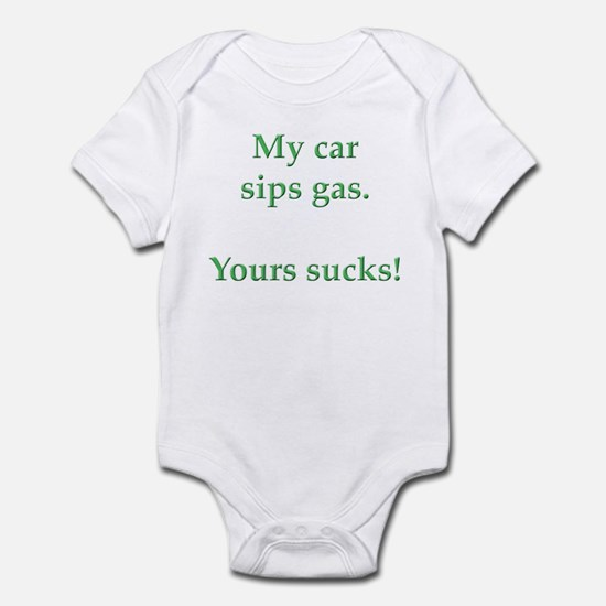 My Car Sips Infant Bodysuit