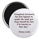 Jimmy Carter Quote Magnet