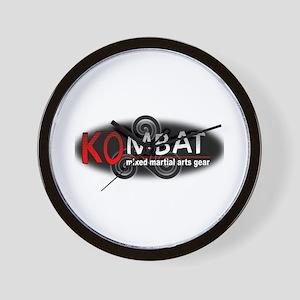 Kombat Mixed Martial Arts Gea Wall Clock