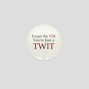 Anti-Twitter Mini Button