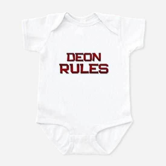 deon rules Infant Bodysuit