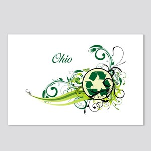 Ohio Recycle T-Shirts and Gifts Postcards (Package