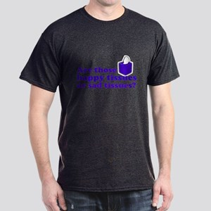 Happy Tissue Dark T-Shirt