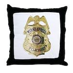 Minneapolis Police Throw Pillow
