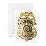 Minneapolis Police Greeting Cards (Pk of 10)