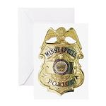 Minneapolis Police Greeting Card