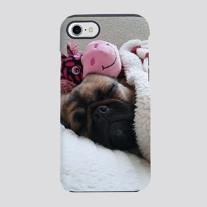 Snuggly Lucy Pug iPhone 7 Tough Case