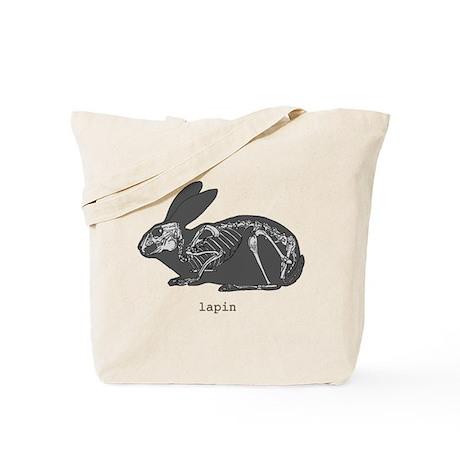 A/EASTER rabbit skeleton Tote Bag