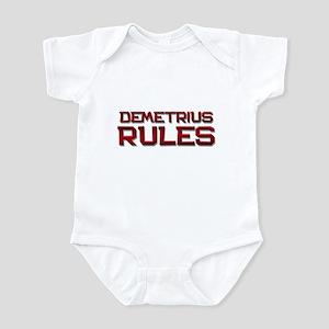 demetrius rules Infant Bodysuit
