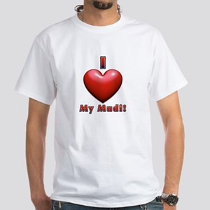 I Heart My Mudi! White T-Shirt