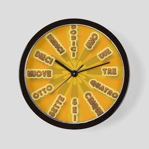 L'orologio Wall Clock