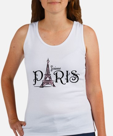 J'aime Paris Women's Tank Top