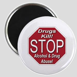 Stop Alcohol & Drug Abuse Magnet