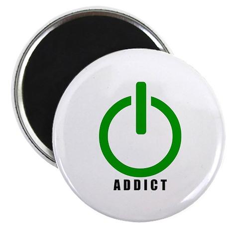 "Addict Online Gamer 2.25"" Magnet (100 pack)"