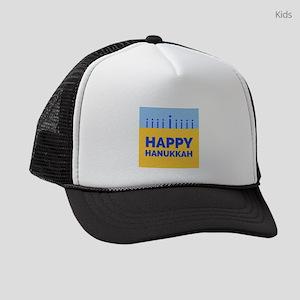 HAPPY HANUKKAH Kids Trucker hat