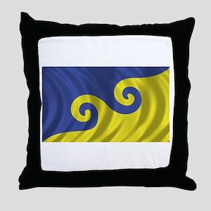 Dream Flag Throw Pillow
