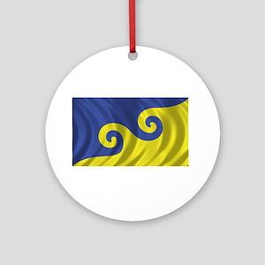 Dream Flag Ornament (Round)