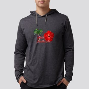 Mele Kalikamaka Long Sleeve T-Shirt