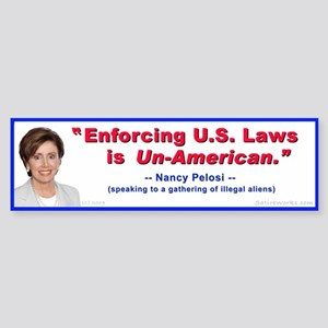 Nancy Pelosi Bumper Sticker