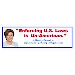 Nancy Pelosi Bumper Sticker