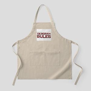 deborah rules BBQ Apron