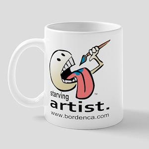 Paint Eater, Starving Artist Mug