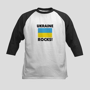 Ukraine Rocks Kids Baseball Jersey