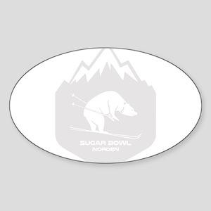 Sugar Bowl - Norden - California Sticker
