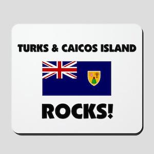 Turks & Caicos Island Rocks Mousepad
