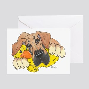 NPF Ducky Greeting Card