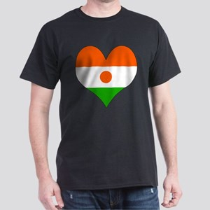 I Love niger Dark T-Shirt