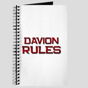 davion rules Journal