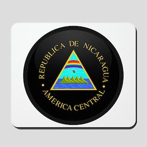 Coat of Arms of Nicaragua Mousepad