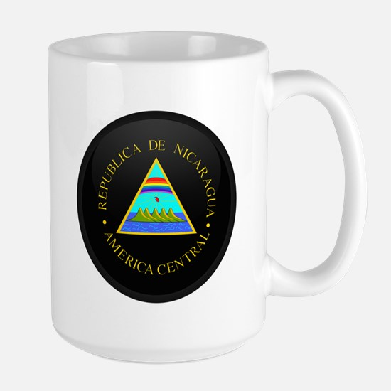 Coat of Arms of Nicaragua Large Mug