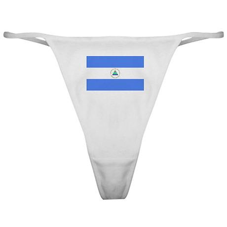 Nicaragua Flag Classic Thong