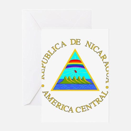 Nicaragua Coat of Arms Greeting Card